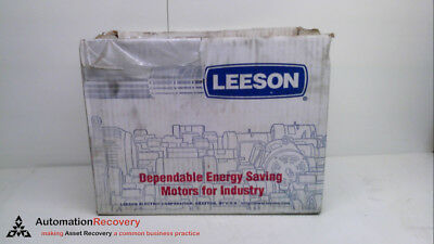 LEESON ELECTRIC COMPANY 092014.00, AC MOTOR, 1/6HP, 3450RPM, 60HZ, NEW #237113
