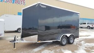 2019 Lightning Trailers 7' Wide Flat Top LTF714TA2