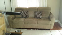 Gorgeous Microfiber couch in GREAT condition!!