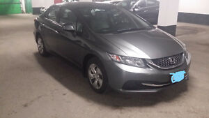 2013 Honda Civic LX Sedan (Safety&Emission+Winter tires)