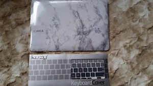 NEW Macbook pro 13 retina marble case and keyboard cover