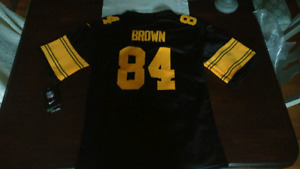 Brand new kids Authentic Pittsburgh Steelers football jersey