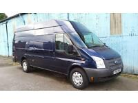 2013 FORD TRANSIT JUMBO 4 METER VAN 125 BHP,METALIC BLUE,SIX SPEED,84K,cars