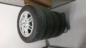 Firestone Winterforce winter tires 215/60R16