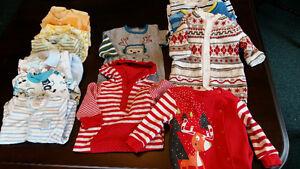 14 pyjamas n-né / 0-3 mois