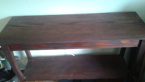 Refinished console tables $60 each
