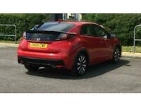2016 Honda Civic 1.4 i-VTEC SE Plus 5dr [Nav] Hatchback Petrol Manual