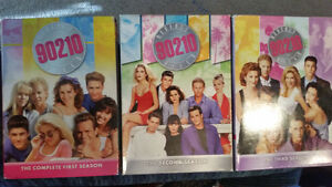 90210 seasons 1,2,3 DVD only 9$ each in excellent condition!!!!!