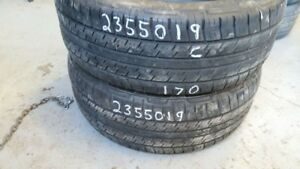 Pair of 2 Continental 4x4 Contact 235/50R19 tires (60% tread lif