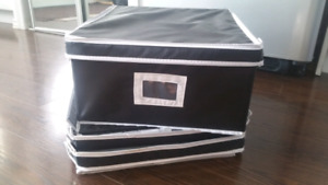 6x Large Collapsible Storage Boxes