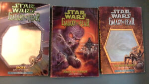 3 Star Wars Galaxy of Fear books