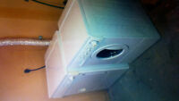 Frigidaire  apartment washer and dryer