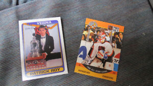 2 Patrick Roy cards