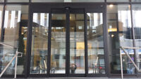 Commercial Glazier, Apprentices and Automatic Door Tech's