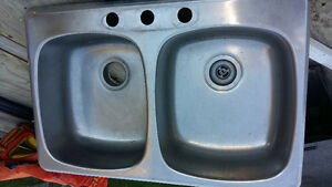 New Price! Double stainless steel sink