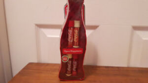 Coca Cola  Lip Smacker 4 Pack in Bottle Shaped Tin Sealed Mint