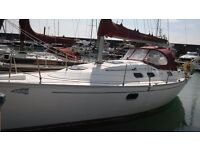 Dufour Gibsea 33. Year 2000 Sailing Yacht for sale. Good sailing and liveaboard possible
