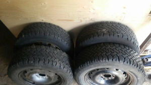 winter tires on 02-07 dodge caravan rims