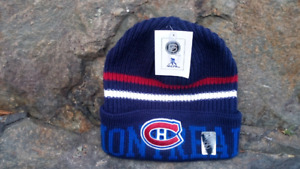 MONTREAL CANADIENS WINTER HAT/TOQUE (NEW)