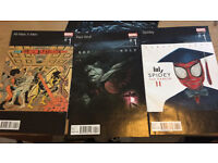 3 marvel hiphop variant comics
