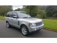 2007Land Rover Range Rover 3.6TD V8 auto Vogue ,2007 WITH FULL SERVICE HISTORY,