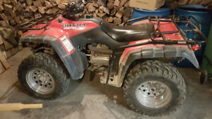 Honda 2001 fourtrax 350 4x4