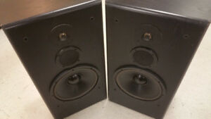 "KLH 4132 3-way 12"" woofer tower floor standing speakers"