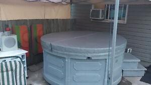 Roto spa hot tub plug and play
