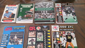 Lotsa Canadian Football League Books  Great for the Roughrider f
