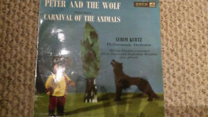 Peter and the Wolf / Carnival of the Animals vintage 1959 vinyl