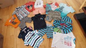 Lot vêtements Garçon 4 ans+Habit de neige Souris mini (5 photos)