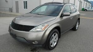2003 Nissan Murano SL AWD ( COMSE WITH 1 YEAR WARRANTY )