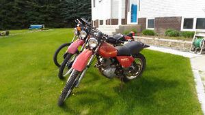 1980-81 Honda XL250 Project bikes