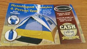 BRAND NEW 4 PERSON TENT