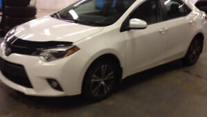 2014 Toyota Corolla LE AUTOMATIC WHITE EXTENDED WARRANTY +++