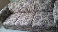 Brand new ONLY ONE WEEK OLD sofa set,never touched