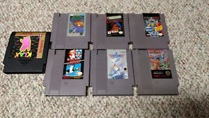 NES cart lot