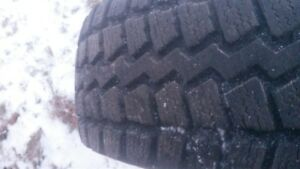snow tires and wheels(15 edge)