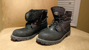 Timberland boots men's 6 or woman's7 1/2-8 black best offer