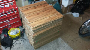 Well over 500 sq feet of laminate