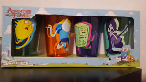 Adventure Time 4 pack pint glasses 4 pack $40