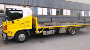 Towing service tilt tray 24/7