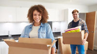 Part time movers 15/hr for Barrie area.  Immediate work
