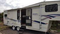 UPDATE: For Sale: 2000 28ft Citation Fifth wheel trave trailer
