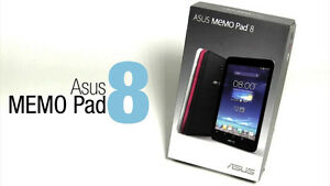 Asus Memo Pad HD 8 ME180A fast quad core android tablet