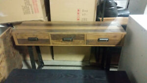 Distillery Pinewood Console Table