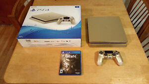 PS4 PlayStation 4 1TB - Limited Edition Gold / Fallout 4