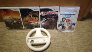 Wii Need for Speed/Mariocart Peterborough Peterborough Area image 1