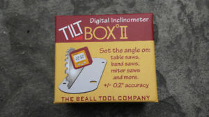 Tilt Box 2 Digital Inclinometer