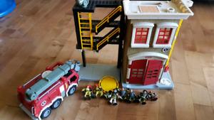 3 imaginex set and lego alarm clock